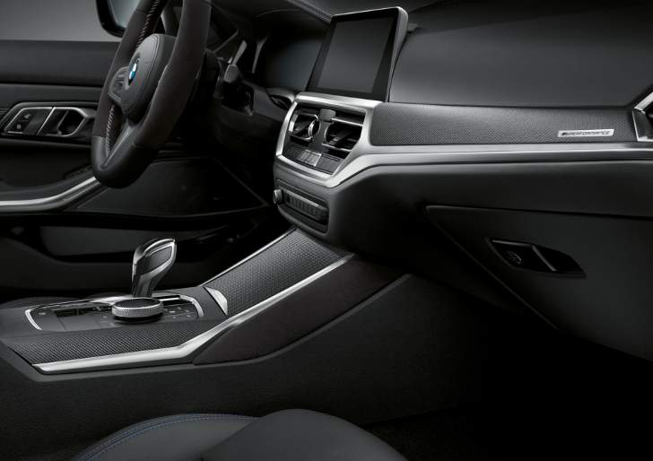Interior BMW G20 3 Series M Performance - foto