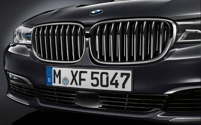 BMW G11 - G12 - передняя часть