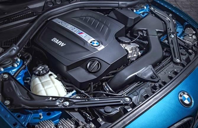 Двигатель BMW M2 F87 - N55