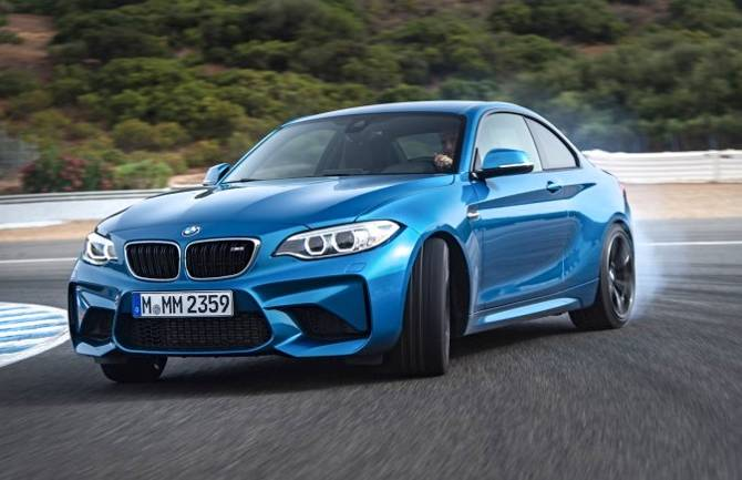 Дрифт BMW M2 F87