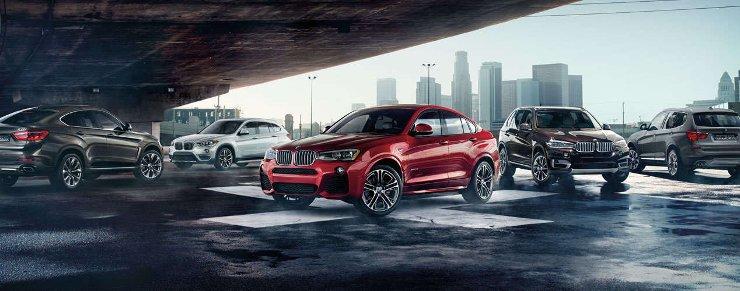 История BMW X Series-модельный ряд