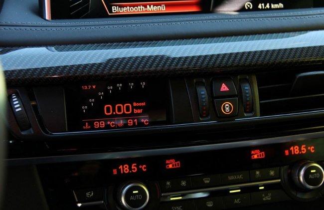 Тюнинг салона BMW X5 MHX5 700 F15 от Manhart