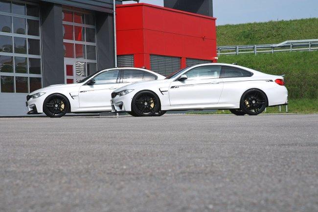 Тюнинг BMW M3 F80 и M4 F82 G-Power - 1200