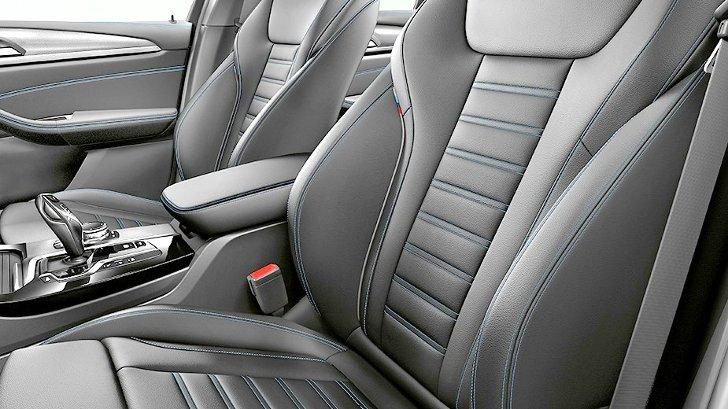 BMW X3 G01 M Sport - салон