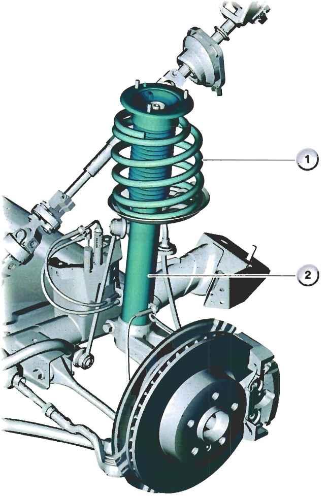 Амортизационная стойка передней подвески BMW E83 X3