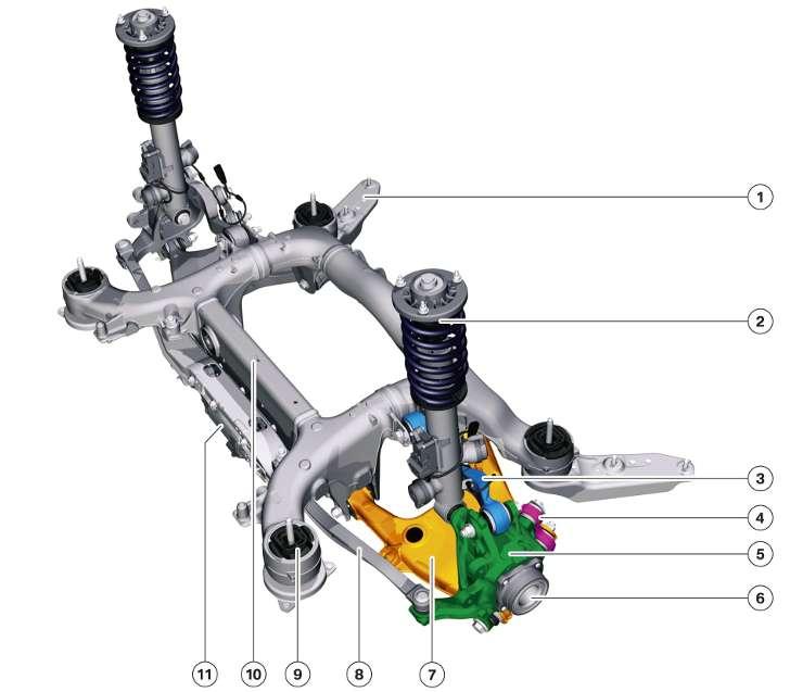 Задняя подвеска Integral V - BMW F10