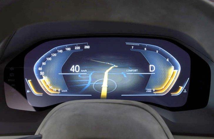 Панель приборов BMW 8 Series Concept