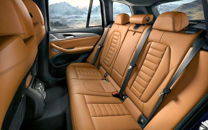 Фото интерьера BMW X3 G01