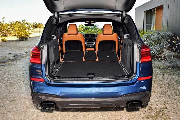 Багажное отделение BMW X3 M40i G01