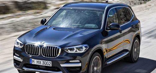 Технические параметры BMW X3 xDrive30d G01