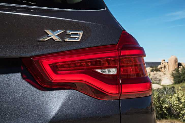 Задняя фара BMW X3 xDrive30d G01 с пакетом xLine