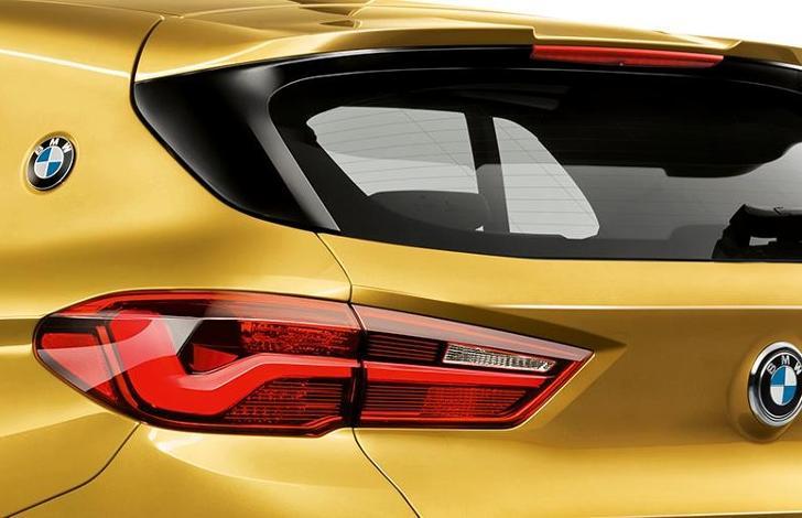 Задний дополнительный спойлер M на BMW X2 F39
