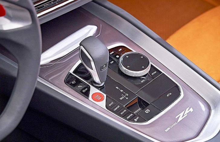 BMW Z4 G29 - центральная консоль