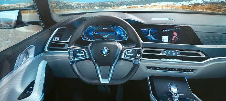Салон BMW X7 Concept G07