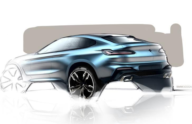Рисунок BMW X4 G02
