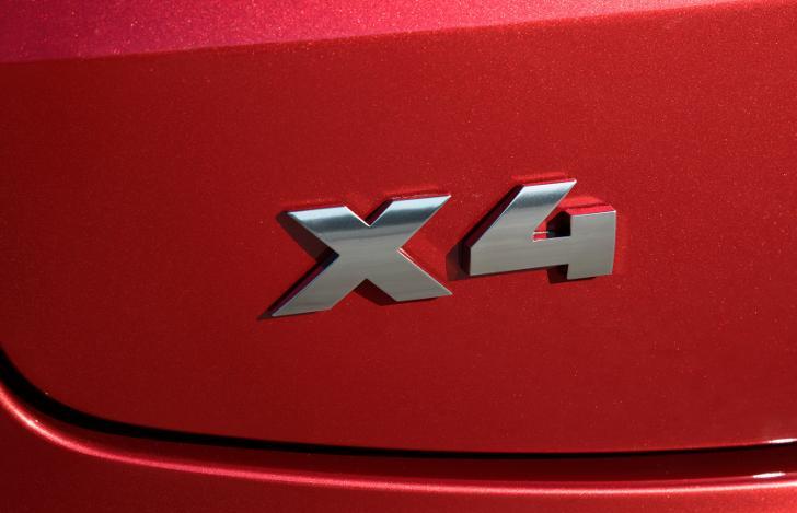 Шильдик BMW X4 G02