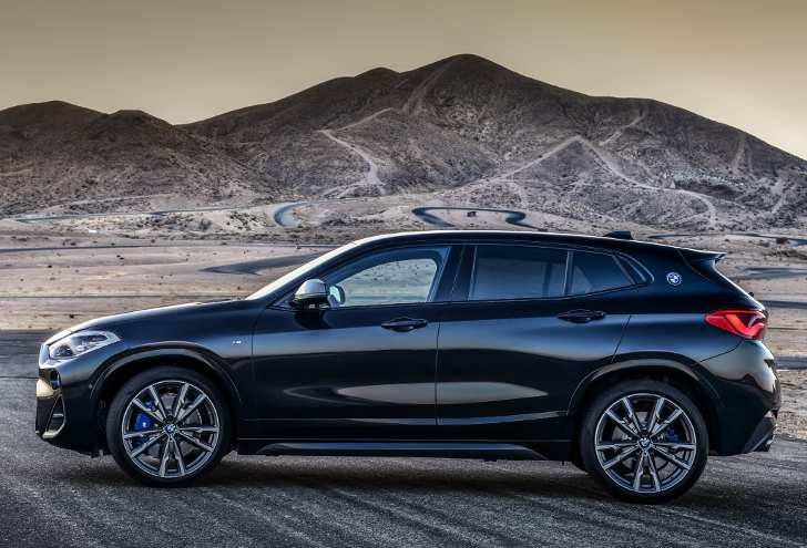 BMW X2 M35i Review on the side