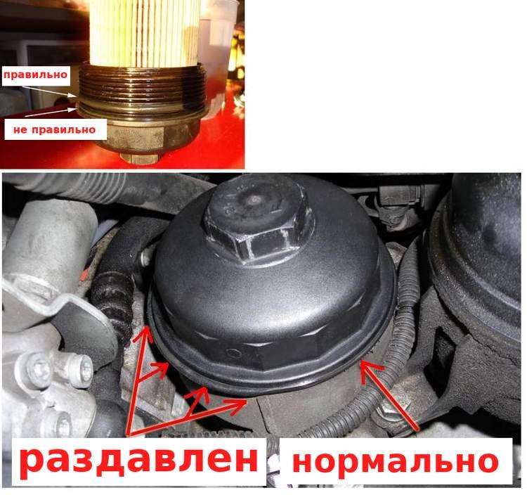 Как правильно установить уплотнительное кольцо в масляной крышке БМВ Е39