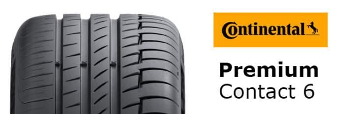 Continental Premiumcontact 6 - лучшие летние шины 2019