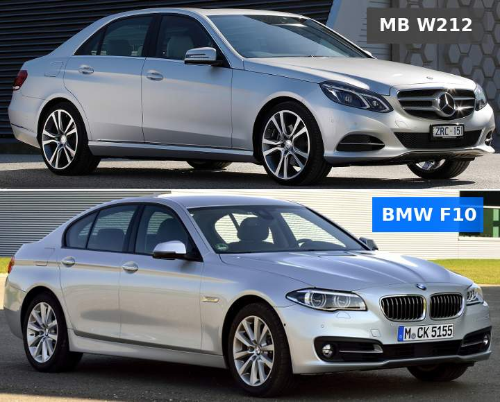 Mercedes Benz W212 vs BMW F10 5 Series - что выбрать